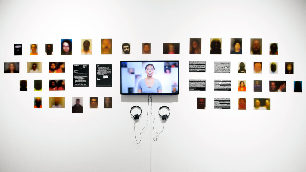 Paolo Cirio, OBSCURITY, installation view at MIT Museum in Boston