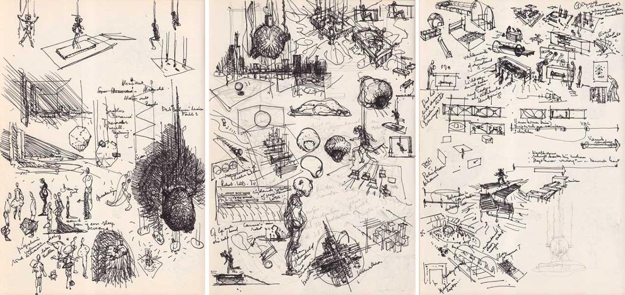 Drawings by Eric Joris